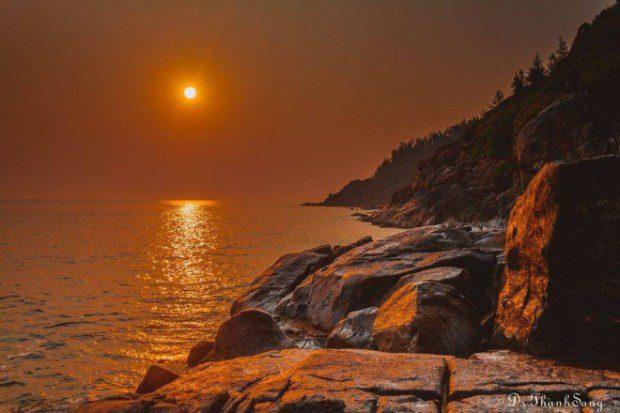 Là điểm ngắm cảnh bình mình rất đẹp. Ảnh: Dr Thanh Sang