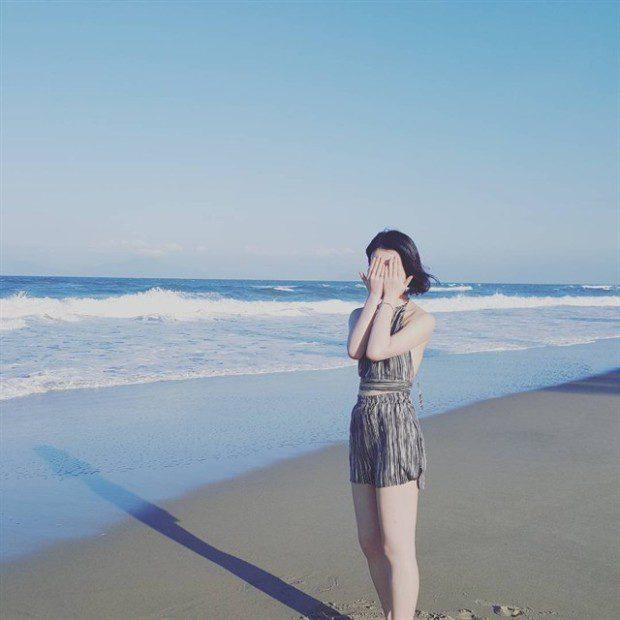 """An Bàng hiện ra như một bức tranh thiên nhiên tuyệt đẹp đúng với những gì mà người ta thường hay nói về một thiên đường """" biển xanh, cát trắng, nắng vàng"""" vậy đó! Ảnh: instagram noh_hyunjung"""