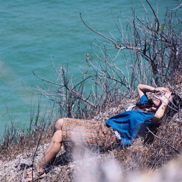 """Đặc biệt, """"đồi hoang"""" này là địa điểm chụp ảnh cực kỳ ấn tượng cho các bạn trẻ. Ảnh: instagram Judy.vp"""