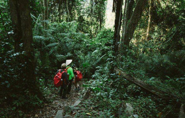 trekking hang tien 1