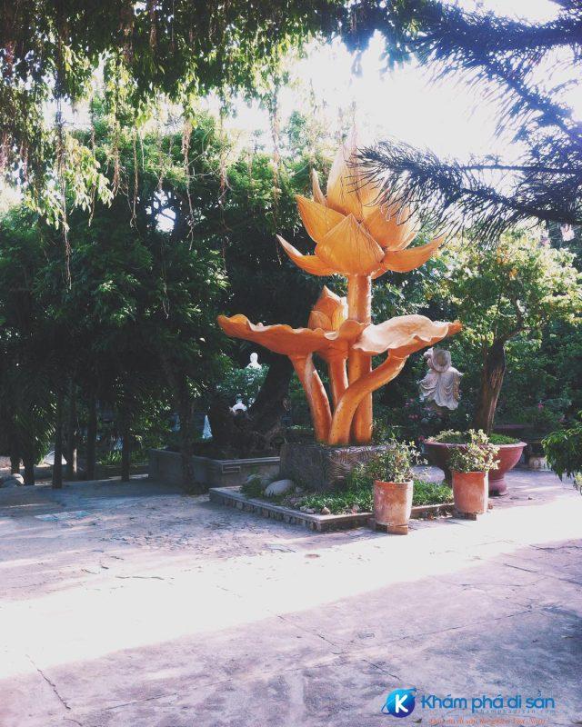 khuôn viên Tịnh Xá Ngọc Hòa Quy Nhơn
