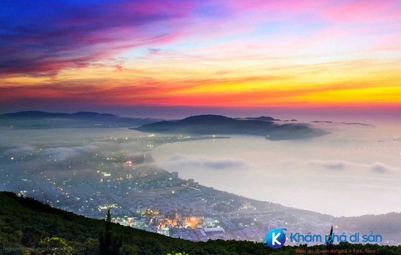 Núi Vũng Chua tuyệt đẹp về đêm