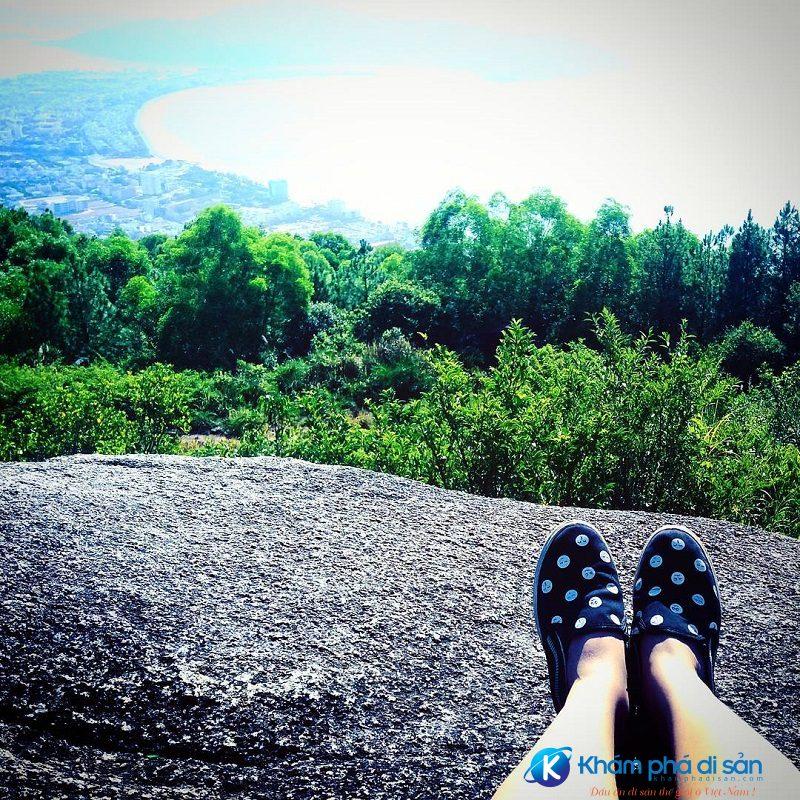 Tận hưởng kỳ nghỉ trên núi Vũng Chua