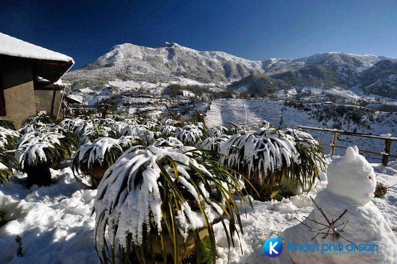 Cảnh đẹp Sapa mùa đông