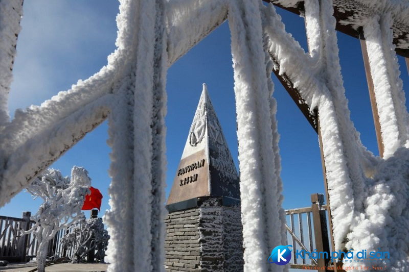 Đỉnh Fansipan Sapa mùa đông