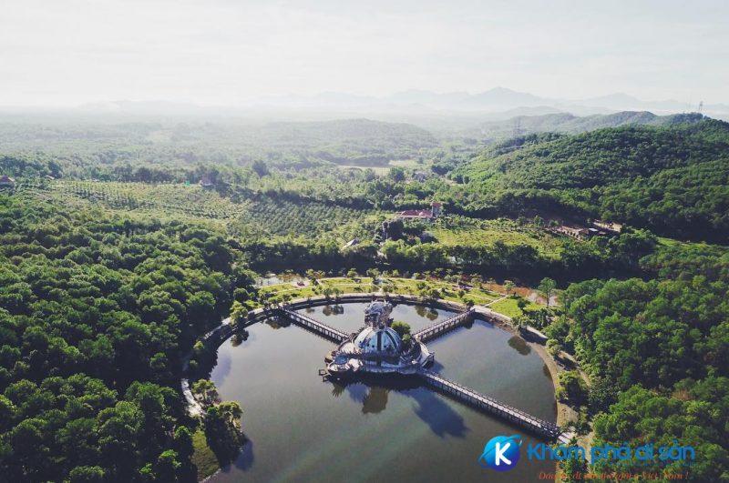 hồ thiên an - đồi thủy tiên