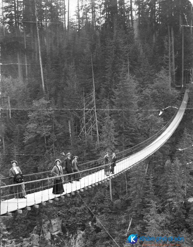 cầu treo Capilano