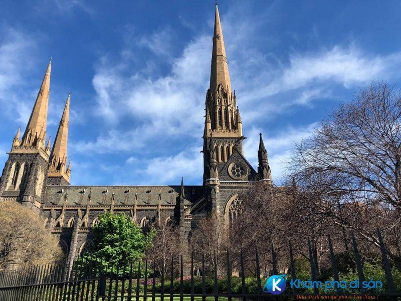 Nhà thờ thánh Patrick Melbourne Australia