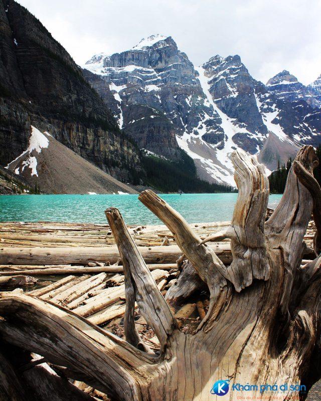 Núi đá Rockies Canada