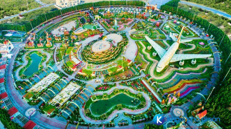 vườn hoa Miracle Garden