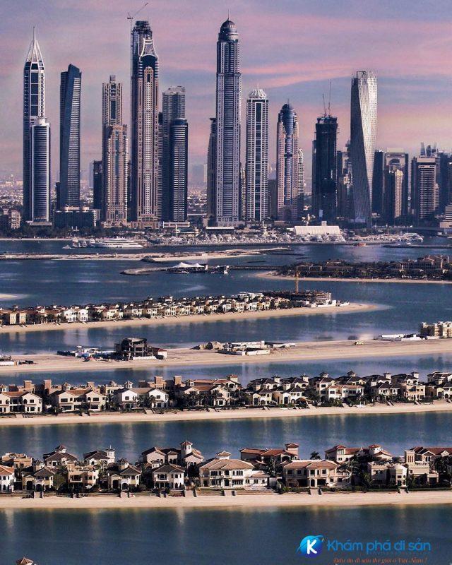 Nhiều căn hộ dân cư ở Palm Jumeirah