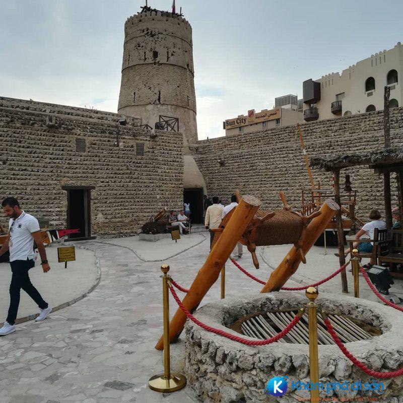 Giếng nước - nguồn sống của người dân Ả Rập xưa