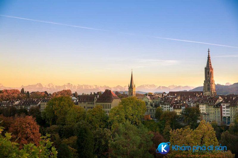 Thị trấn cổ Bern