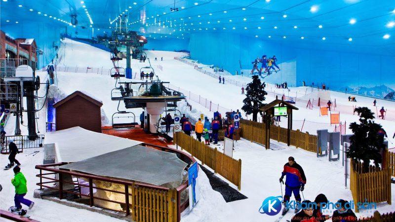 Khu trượt tuyết Ski Dubai