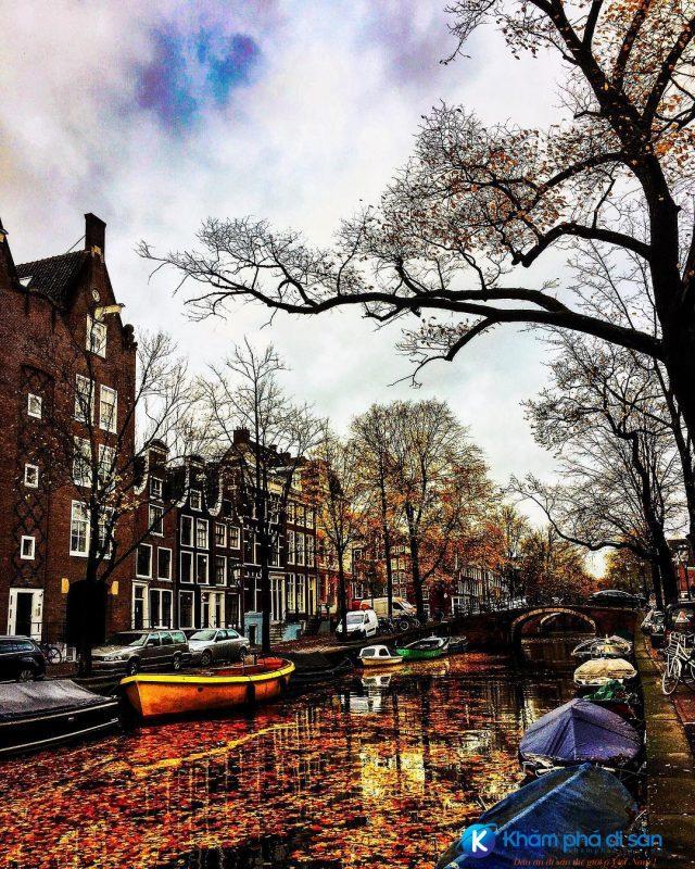 kênh đào Amsterdam khamphadisan5 e1543804088421