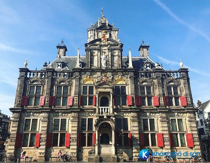 Tòa thị chính Delft Hà Lan