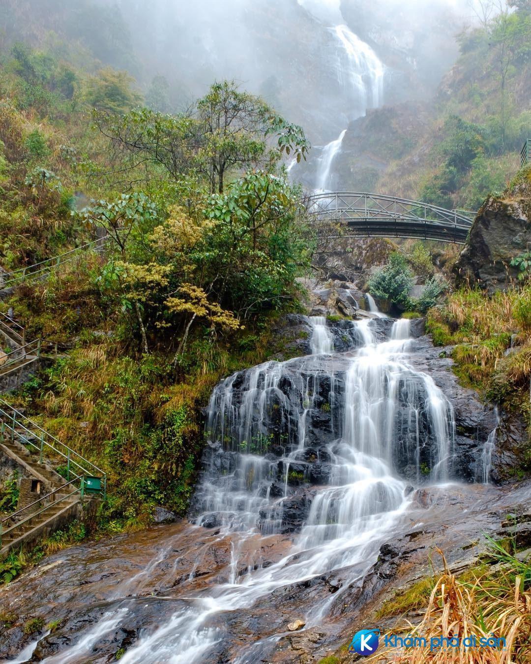 Sapa] Thác Bạc - dải lụa trắng giữa núi rừng Tây Bắc - Khám Phá Di Sản