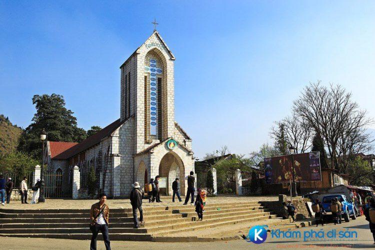 Nhà thờ đá Sapa Vntrip e1557977817485