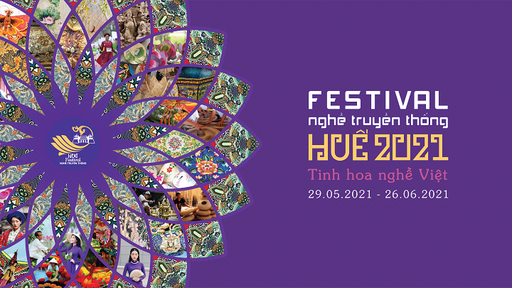Poster Festival ngh truyn thng Hu 2021